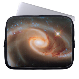 Arp 273 Rose Galaxies Hubble Outer Space Photo Computer Sleeve