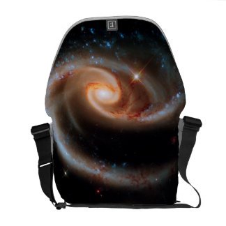 Arp 273 Rose Galaxies Hubble Outer Space Photo Courier Bag