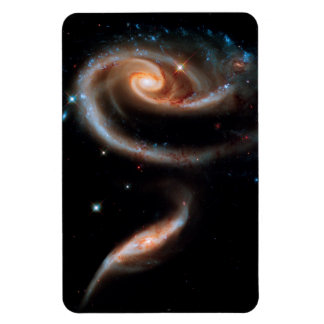 Arp 273 Rose Galaxies Hubble Outer Space Photo Magnet