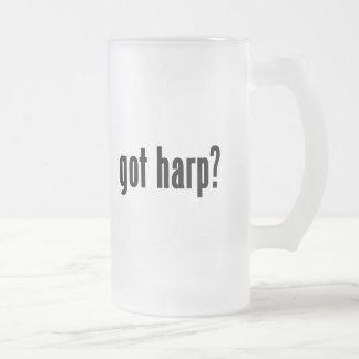 ¿arpa conseguida? taza de cristal