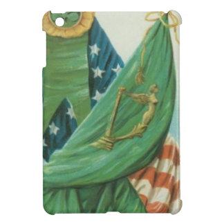 Arpa de la bandera americana del vintage de Erin S