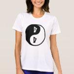 Arpa de Yin Yang Camiseta
