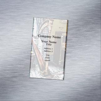 Arpa elegante tarjetas de visita magnéticas (paquete de 25)