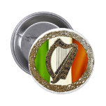 Arpa irlandesa pins