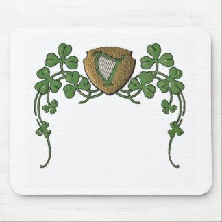 Arpa irlandesa tapetes de ratón