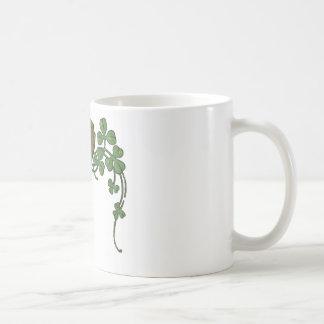 Arpa irlandesa taza de café