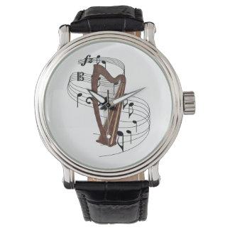Arpa Reloj De Mano