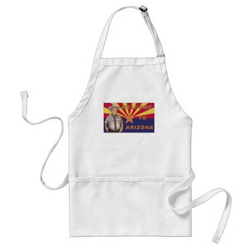 Arpaio: Recepción a Arizona Delantal