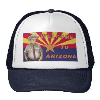 Arpaio: Recepción a Arizona Gorros