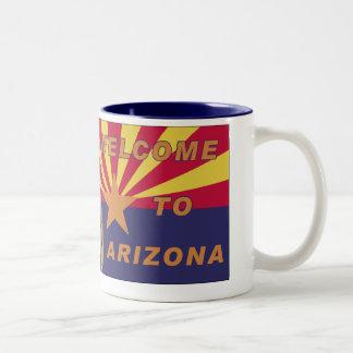 Arpaio: Recepción a Arizona Taza De Café De Dos Colores