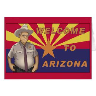 Arpaio: Welcome to Arizona Card