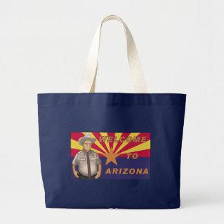Arpaio: Welcome to Arizona Jumbo Tote Bag
