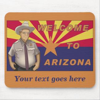 Arpaio: Welcome to Arizona Mousepad