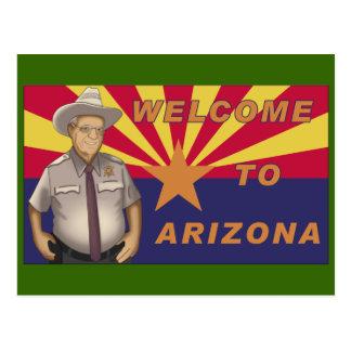 Arpaio: Welcome to Arizona Postcard
