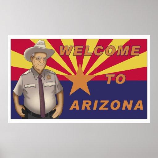 Arpaio: Welcome to Arizona Poster