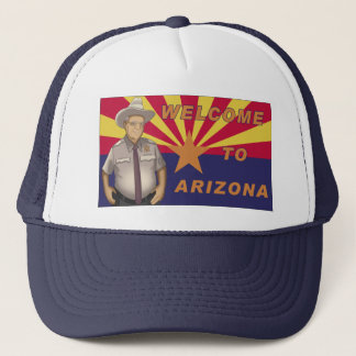 Arpaio: Welcome to Arizona Trucker Hat