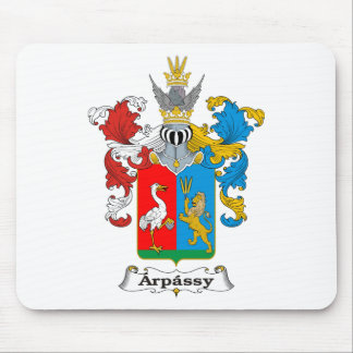 Arpassy Family Hungarian Coat of Arms Mouse Pad
