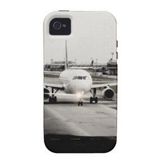 Arplane on runway for take off vibe iPhone 4 cover