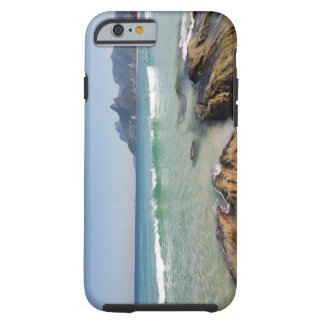 Arpoador rocks at the beginning of Ipanema Tough iPhone 6 Case