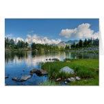 Arpy Lake hdr Greeting Card