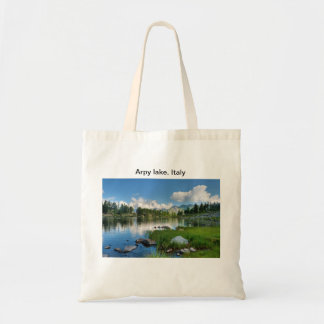 Arpy Lake hdr Tote Bag