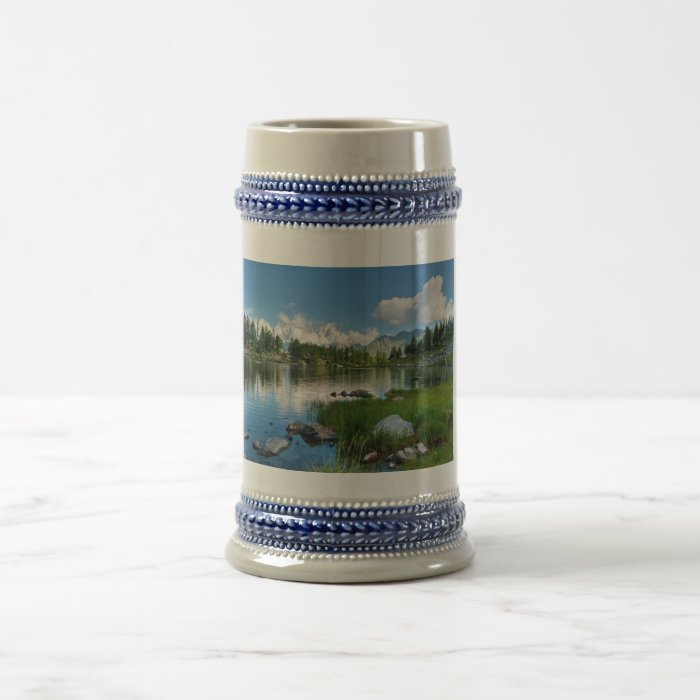 Arpy Lake, Italy Beer Stein