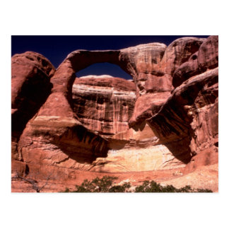 arquea manera de los arcos del parque nacional enc tarjeta postal