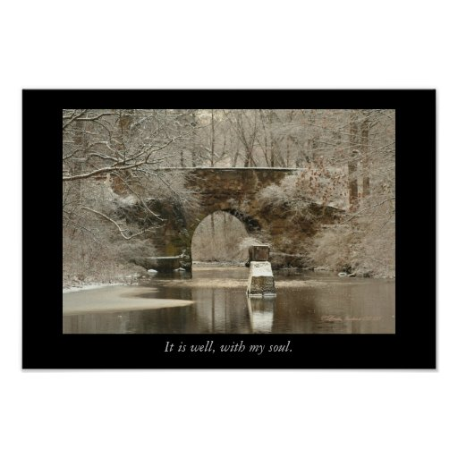 Arquee, el puente de piedra, él está bien, poster