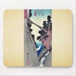 Arquee la luna formada por Ando, Hiroshige Ukiyoe Tapete De Raton