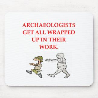 arqueología alfombrillas de raton