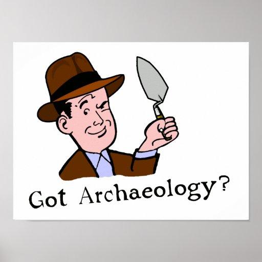 ¿Arqueología conseguida? Poster