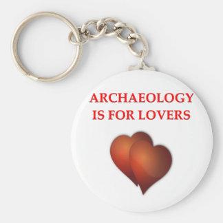 arqueología llavero personalizado