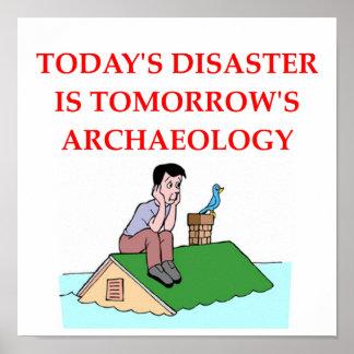 arqueología posters