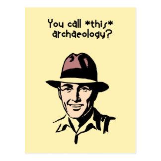 Arqueología Postales
