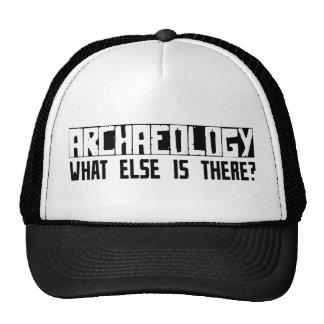 ¿Arqueología qué más está allí? Gorras