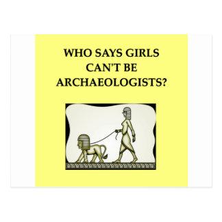arqueología tarjetas postales