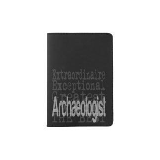 Arqueólogo Extraordinaire Porta Pasaporte