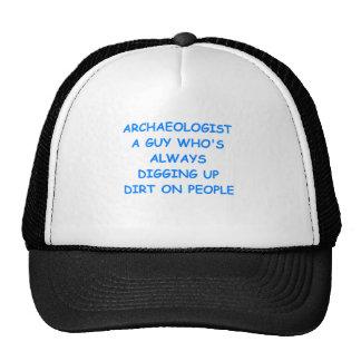 arqueólogo gorras