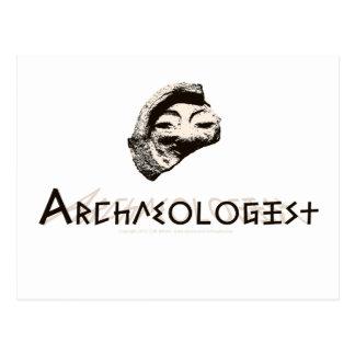 Arqueólogo Tarjetas Postales