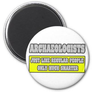 Arqueólogos… mucho más elegantes imán