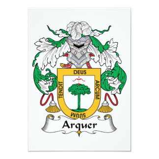 Arquer Family Crest Card