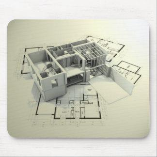 arquitecto 2 tapetes de raton
