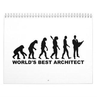 Arquitecto del mundo de la evolución el mejor calendario