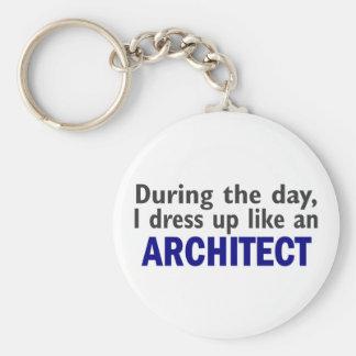 Arquitecto durante el día llaveros