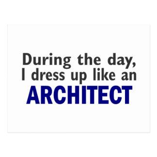 Arquitecto durante el día postal