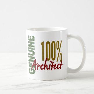 Arquitecto el 100% auténtico taza de café