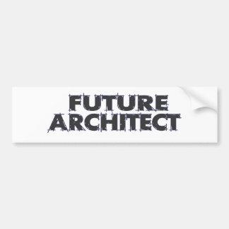 Arquitecto futuro pegatina para auto