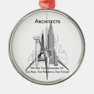 Arquitectos Adorno Navideño Redondo De Metal