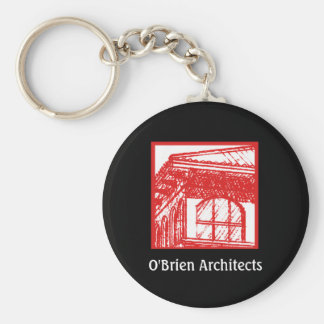Arquitectos de O'Brien Llavero Personalizado