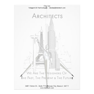Arquitectos Membrete A Diseño